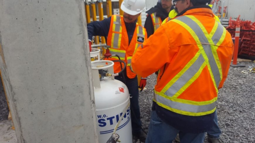 ASI Provides Propane to Construction Site